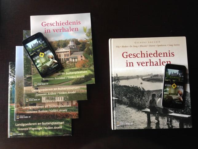Gelders Arcadië boeken & apps