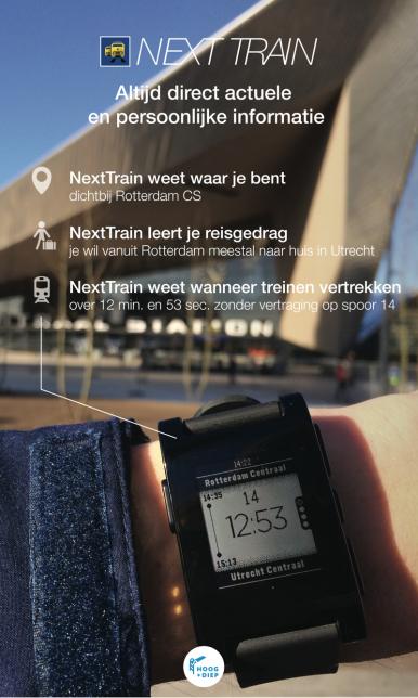 NextTrain - altijd actuele en persoonlijke info